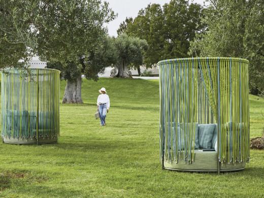 Round Trendyrope Grass-Turquoise